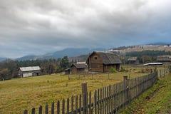 Subcarpathia countryside in Ukraine Stock Photography