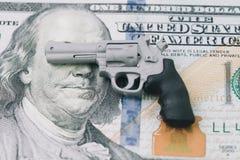Subcolture americane che glorificano le pistole e le stimano più di Immagini Stock Libere da Diritti