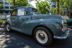 Subcompact car Morris Minor 1000, 1960. BERLIN - JUNE 05, 2016: Subcompact car Morris Minor 1000, 1960. Classic Days Berlin 2016 Stock Photography