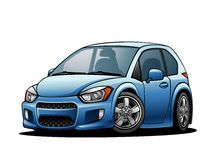Subcompact Car 01 Stock Photos