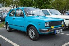 Subcompact Fiat 127 serie 2 Royaltyfri Foto