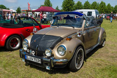 Subcompact Volkswagen Beetle imagenes de archivo