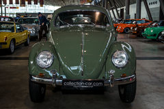 Subcompact Volkswagen Beetle, 1973. Stock Photo