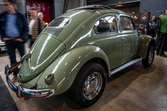 Subcompact Volkswagen Beetle, 1973. Royalty Free Stock Photography