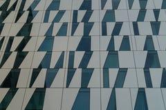 Subconjunto da fachada do arranha-céus moderno Fotografia de Stock Royalty Free