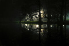 Subconscious Mind. Exploration by night in Sala, Sweden and the magic reveal itself Stock Photos