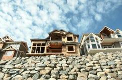 Subdivisão das HOME das casas BC Fotografia de Stock Royalty Free