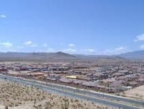 Subdivisión del desierto Foto de archivo libre de regalías