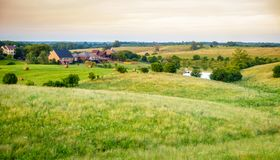 Subdivision au Kentucky rural Photographie stock
