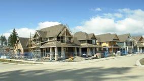 Subdivision neuve Canada de maisons   photographie stock
