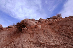 Subduction zone and sky Stock Image