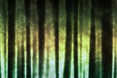 Subdued Green Abstract Soothing Background Royalty Free Stock Photography