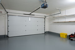 Säubern Sie Garage Stockbilder