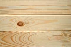 Säubern Sie Planken der Fichte und des Kiefernholzes - strukturierter hölzerner Hintergrund Stockbilder