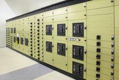 Subestação da energia elétrica imagem de stock royalty free