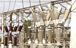 Subestação elétrica Imagens de Stock Royalty Free