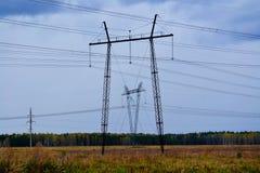 Subestaciones eléctricas Siberia Fotos de archivo