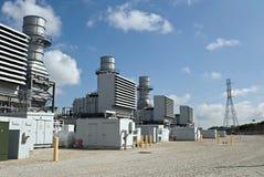 Subestaciones eléctricas Fotografía de archivo libre de regalías