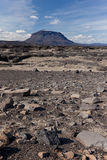 Subglacial vulkaan Royalty-vrije Stock Fotografie