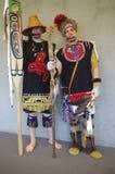 Gente de Salish de la costa Fotografía de archivo