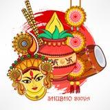 Subho Bijoya Happy Navratri Stock Photos