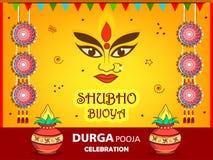 Subho Bijoya Happy Navratri Royalty Free Stock Photos