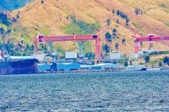 Subic Bay Philippinen und Umgebung stockfoto