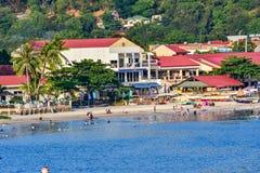 Subic Bay Philippines et abords Photographie stock libre de droits