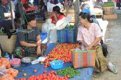 Subic gatasikt i Filippinerna Arkivfoto