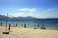 Subic strand Fotografering för Bildbyråer