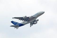 Subida A380 Imagenes de archivo