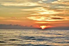 Subida de Sun por la mañana Imagenes de archivo