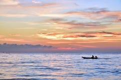 Subida de Sun por la mañana Imagen de archivo libre de regalías