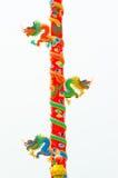 Subida del dragón el polo Foto de archivo