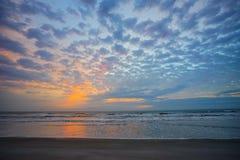 Subida del sol de la Florida Fotografía de archivo