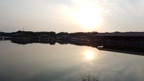 subida del sol durante vacaciones imagen de archivo libre de regalías