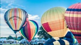 Subida maciça dos balões Imagem de Stock