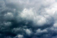 Subidas de la tormenta Fotografía de archivo