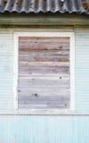 Subido cuidadosamente encima de ventana imagen de archivo