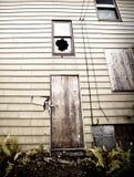 Subido para arriba, casa abandonada Imagen de archivo libre de regalías