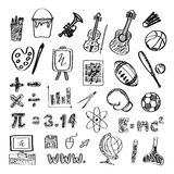 Subject icon Stock Images