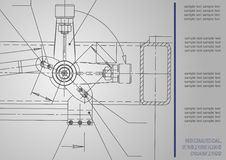 Subject vector background. Mechanical Engineering Stock Images