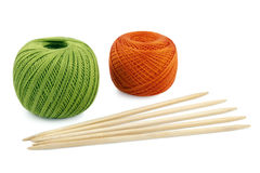 Subjects for knitting Royalty Free Stock Photography