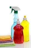 Subjects  for sanitary cleaning a house Stock Photos