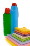 Subjects  for sanitary cleaning a house Royalty Free Stock Photos
