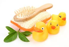 Subjects for a shower and baths Stock Photo