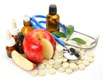 Subjects for treatment of illness Stock Images
