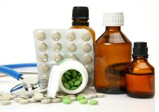 Subjects for treatment of illness Stock Image