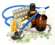 Subjects for treatment of illness Royalty Free Stock Photos