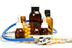 Subjects for treatment of illness Royalty Free Stock Photography
